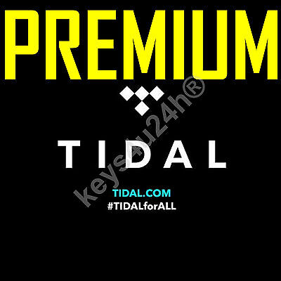90 DAYS GURANTEED | TIDAL PREMIUM | BETTER than spotify or deezer FAST DELIVERY