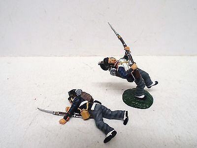 Frontline Figures X2 French Napoleonic Fusiliers 1 Dead 1 Dying Loose  (Bs1571)