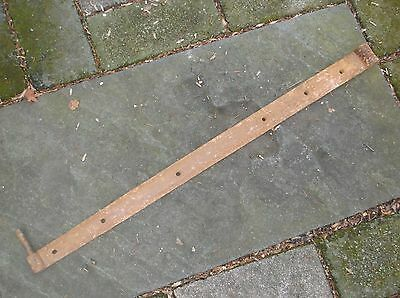 Large Antique Forged Iron Barn Door Hinge Eyelet And Pintel Stable Door Farm