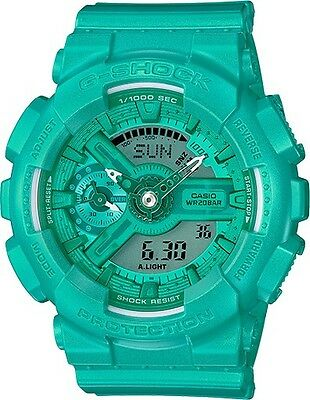 Gmas-110Vc-3A Green Casio G Shock X Vivid Color S Series Teal Gma-S110Vc-3A