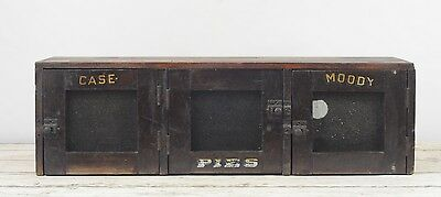 Antique Primitive Wood Pie Safe Wall/Counter Pie Cabinet Case Moody Pie Safe AAF