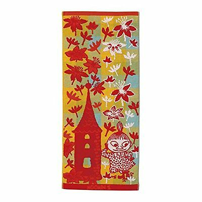 Moomin Valley Imabari Towel Little My Face Towel Made in Japan