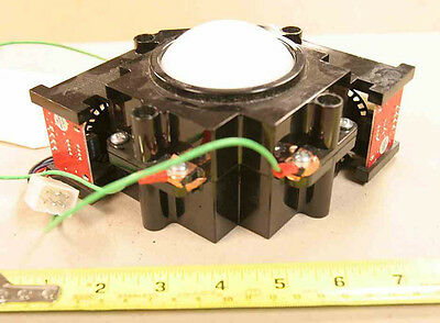 """Happ 3"""" trackball assembly for I.T. Golden Tee, Silver Strike Bowling game, etc."""