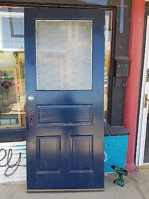 "Unique Vintage Front door. Size 36""x84""x 1""5/8"". Make a awesome sliding door."