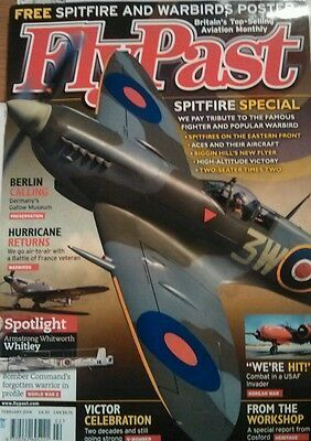Flypast magazine spitfire special including poster new