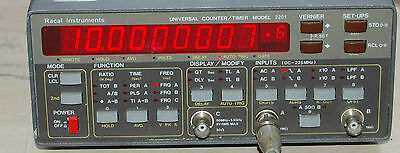 Racal 2201 / Tabor 6020 Frequency Counter 225MHz