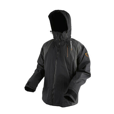 Savage Gear Black Savage Jacket Regenjacke