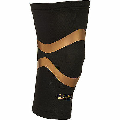 Copper Fit Pro Series Performance Compression Knee Sleeve, Black XLarge