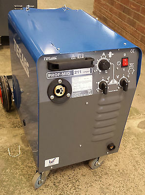 TECARC 211 COMPACT MIG WELDER - Built in the UK   (SHOP SOILED MACHINE)