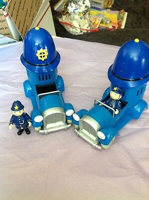 Noddy The Car And Police Man Vintage From England