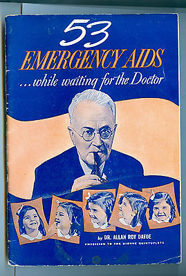 53 Emergency Aids While Waiting for the Doctor - Dr. Allan Roy Dafoe - Lysol