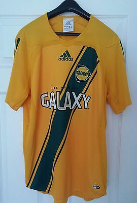 Los Angeles Galaxy Home Football Shirt 2006-2007 Adults Small