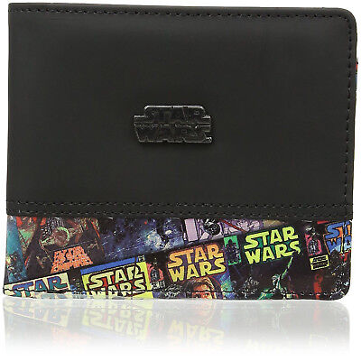 NEW OFFICIAL Star Wars Classic Comic Mens / Boys Retro / Vintage Bi-Fold Wallet
