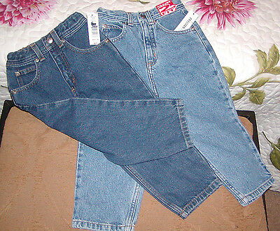 NWT-Jeans 3T, Stone Wash & Dark Stone w/ajustable fit waist,by Parisian Kids