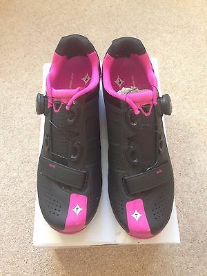2016 Specialized Zante Women's Road Cycling Shoes EU 41 (only worn for 7 hours)