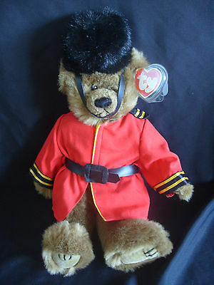 """Ty Beanies Bear - Attic Treasures 15"""" Malcolm  With Tag"""