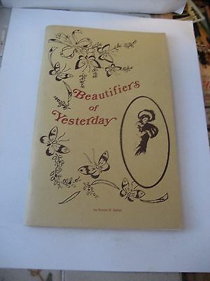 Beautifiers Of Yesterday Cosmetic Container Reference Book By Steven R. Salfren