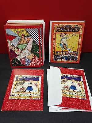 Mary Engelbreit New Note Card Quilt Set (14) & To Imagine Is Everything (4) + 3