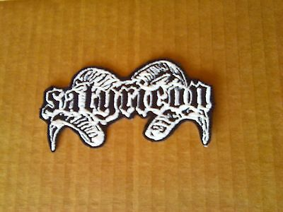 Satyricon,old Logo,iron On Embroidered Patch