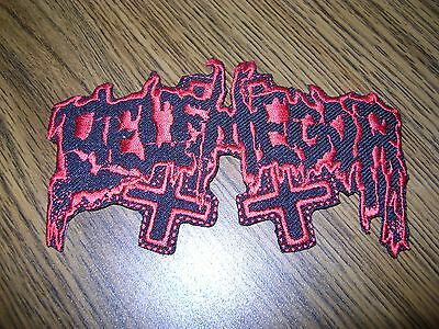 Belphegor,iron On Red Embroidered Patch