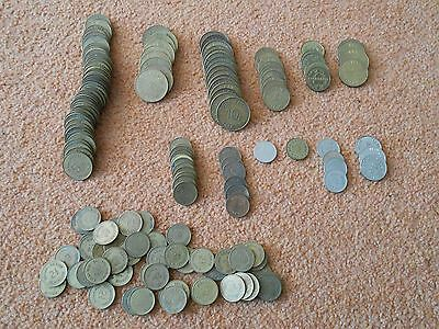160+ Bell Fruit Machine tokens /coins Large bulk / job lot At least 13 different