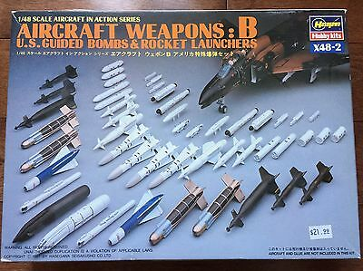 Hasegawa Aircraft Weapons : B Bombs and Rockets 1/48 scale model kit