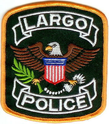 Largo Police Patch Florida NEW