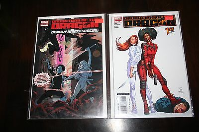 Daughters of the Dragon 1 & Deadly Hands of Kung Fu reprints 1st app frm 32 & 33