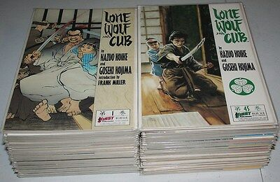 Lone Wolf and Cub 1-45 full run Complete Series CLASSIC! NIce!