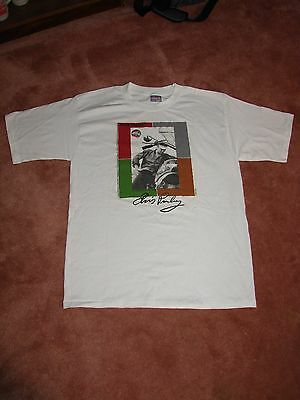 ELVIS PRESLEY The Alfred Wertheimer Collection T-Shirt - Sz L - 1997 -Motorcycle
