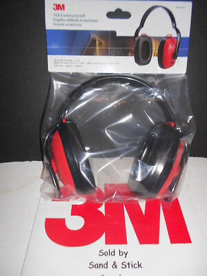 3M 1426 Economy Ear Muffs Adjustable 21Db New/sealedin Retail Package Free Ship