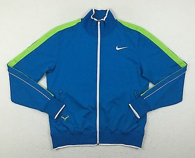 Nike N98 Rafa Nadal Finals Blue Tennis Sample Track Jacket Men's Large L 446925