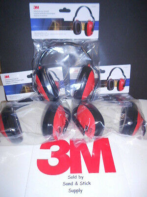 3M 1426 Economy Ear Muffs Adjustable 21Db New/sealed 3 Pair Free Shipping
