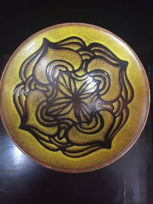 Mid Century England Poole Pottery 57 Aegean Charger Or Bowl