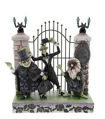 Disney Parks Haunted Mansion Jim Shore Hitchhiking Ghosts Figurine New