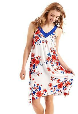 Peter Alexander Ladies Womens Summer Sleeveless French Floral Nightie Sleepwear
