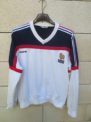 super quality promo code another chance VINTAGE SWEAT ADIDAS FRANCE Mondial 86 époque PLATINI Coupe ...