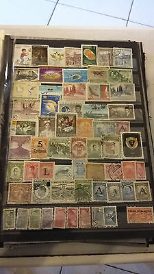 62 TIMBRES DE Colombie (lot 8)