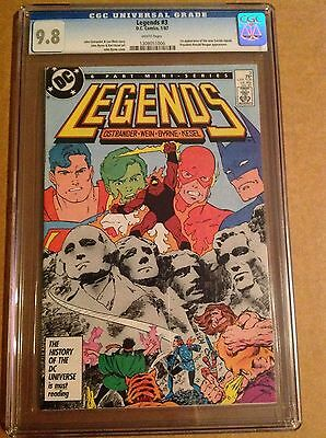 CGC 9.8 Legends #3 1st appearance of the new Suicide Squad