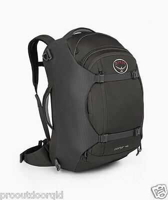 Osprey Porter 46 Carry-On Luggage / Gear Hauling Pack - Black