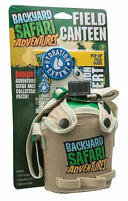 Backyard Safari Field Canteen, Educational Toy For ages 5+ Kids, 2469506 New