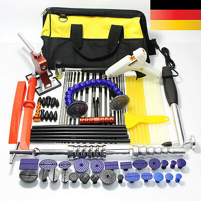 Auto PDR Paintless Hail Dent Puller Lifter Removal Hammer Tool Repair Sticks Kit