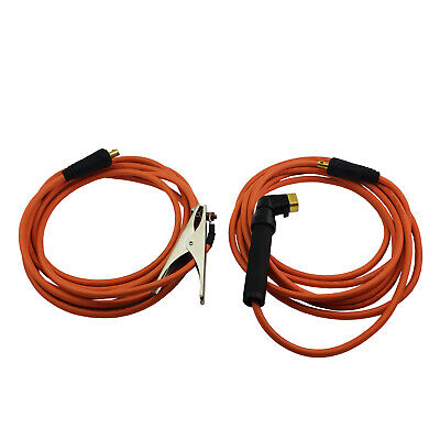 Arc Welding Lead Set 230A - Earth Clamp - Stick - Dinse 50 - 25mm Cable- 6 Meter