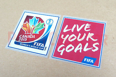 Women's World Cup Canada 2015 Sleeve Soccer Patch/Badge