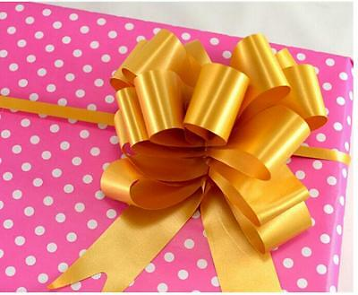 5pcs*  30mm Pull Bow Ribbon for Craft Party Wedding Decoration Gift Wrapping