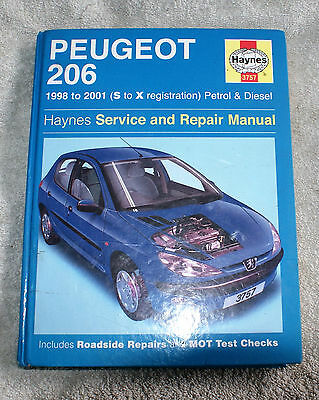 Peugeot 206 98-01 Haynes Manual Used