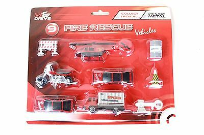 9 Fire Rescue Vehicles