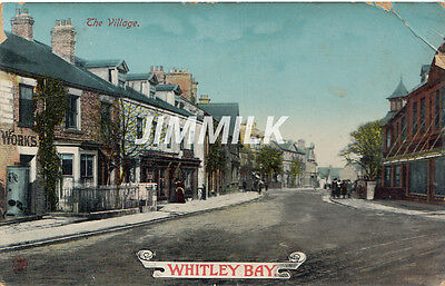 Old Postcard The Village Whitley Bay