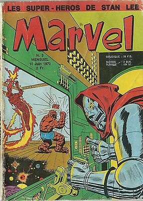 Rare Eo Marvel N° 3 Juin 1970 Stan Lee + Collectif ( État Correct )