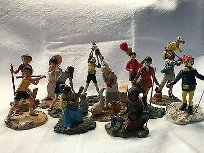 Franklin Mint Children of the World figurines